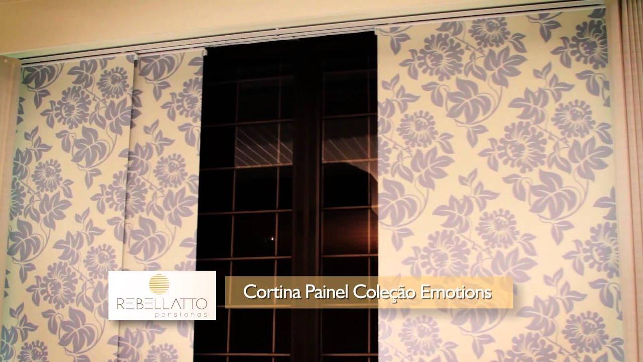 09 cortina painel  YouTube