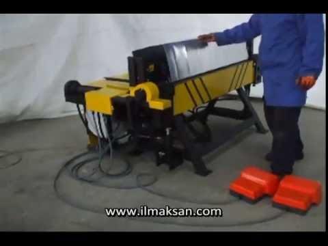 İLMAKSAN HİDROLİK CAKA-HYDRAULIC FOLDING MACHINE