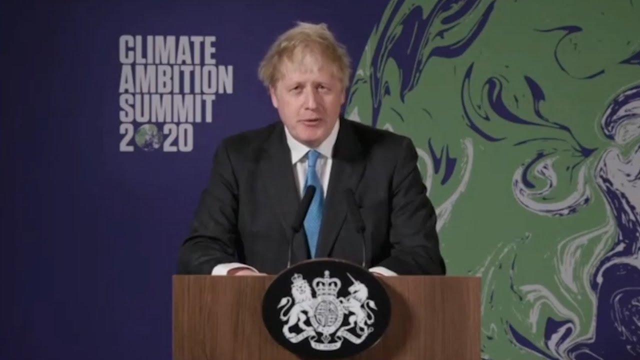 Boris Johnson: Climate Change is a challenge 'far worse than Coronavirus'
