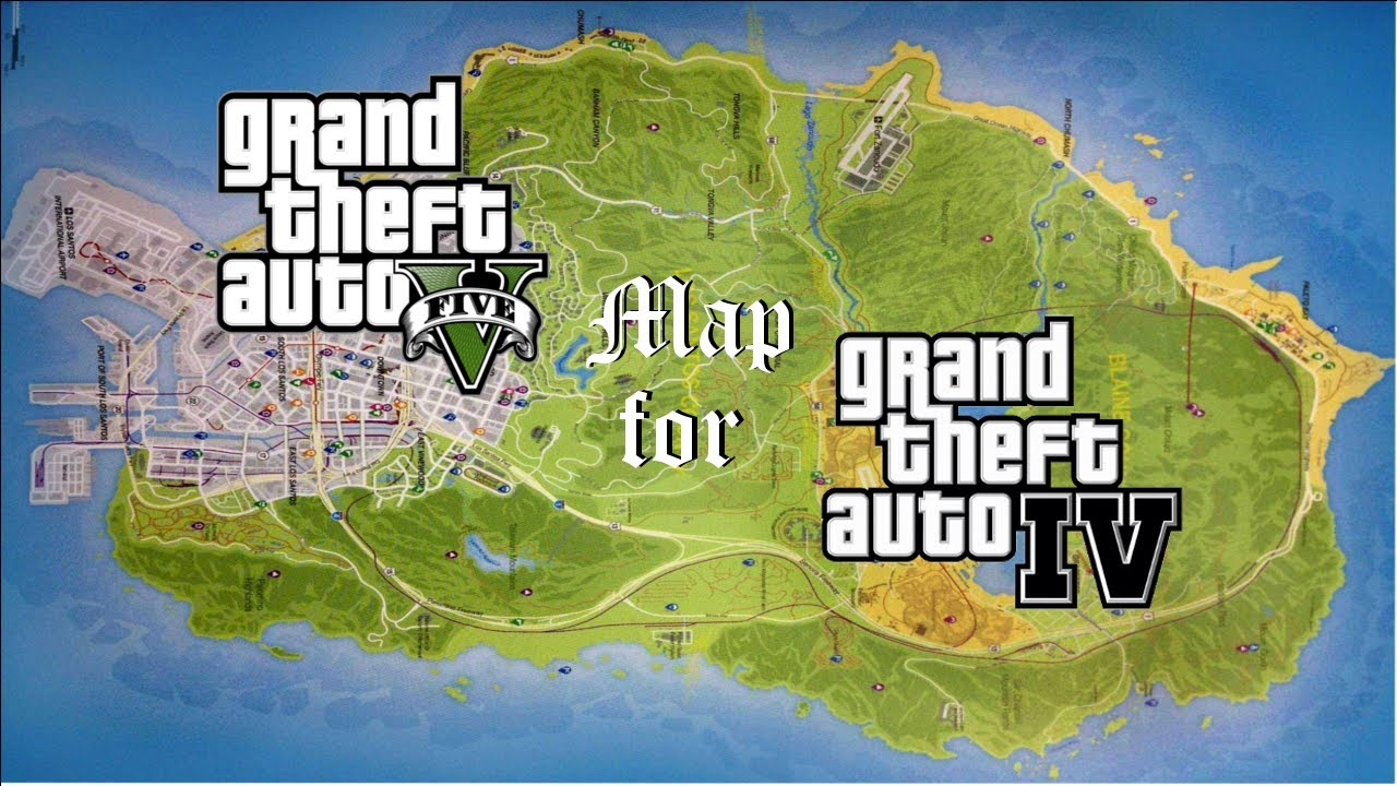 Gta iv maps download