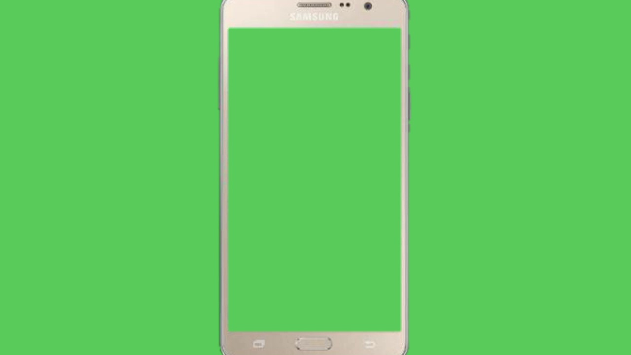 green screen mobile frame and music no copyright - Mobile Frame