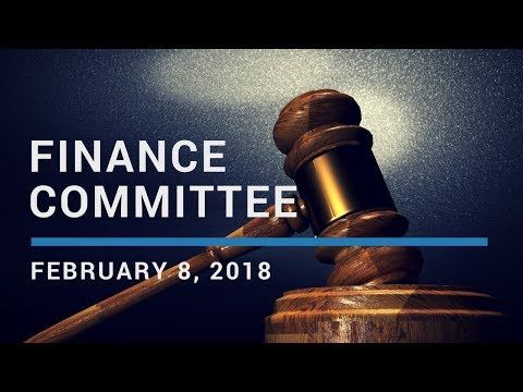 February 8, 2018 - Peabody Finance Committee Meeting