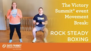 Movement Break - Rock Steady Boxing | The Victory Summit® Omaha online event