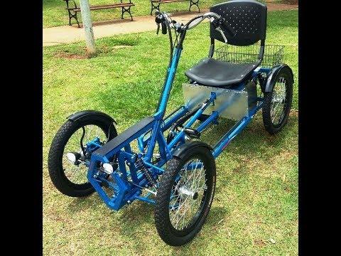 quadriciclo el trico 1000 watts 48 volts marca wind bikes. Black Bedroom Furniture Sets. Home Design Ideas
