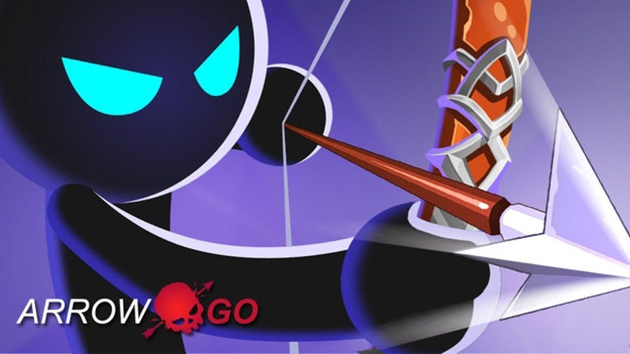 Arrow Go! - Stickman Arrow - Gameplay Trailer (Android, iOS)