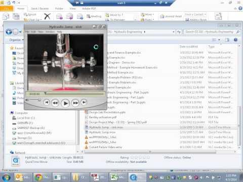 CE 331 - Class 22 (4/3/2014) Momentum-Depth Relationship; Hydraulic Jump