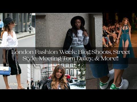 London Fashion Week: Blog Shoots, Street Style, Meeting Tom Daley, & More!!|| The Hat Logic