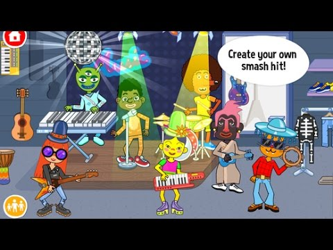 Pepi Super Stores Part 2 - iPad app demo for kids - Ellie