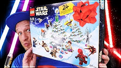 LEGO STAR WARS ADVENTSKALENDER 2018 Unboxing