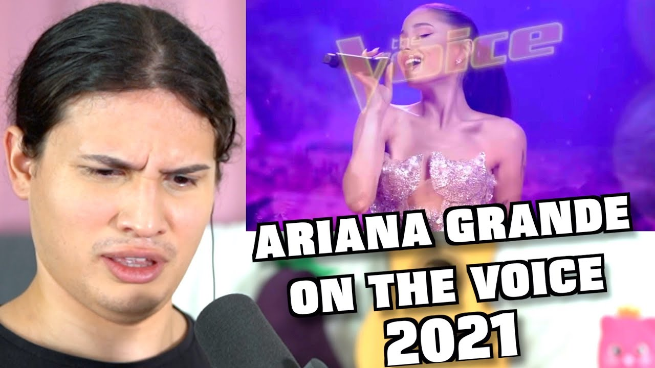 Vocal Coach Reacts to Ariana Grande on The Voice 2021!