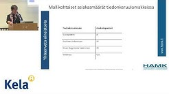 OTE hankkeen tutkimus Sari Miettinen 1