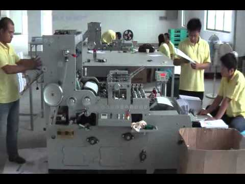 Side folding paper envelope - PMC Machinery Co.