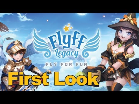 Flyff Legacy Gameplay First Look (Mobile MMORPG) – MMOs.com
