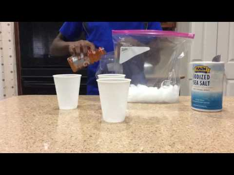 How to make snow cones