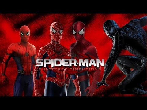 Spider Man Shattered Dimensions Official Trailer 2019