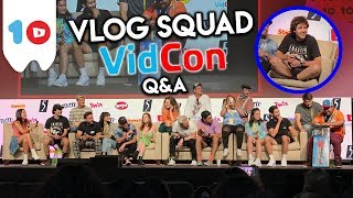 DAVID DOBRIK & VLOG SQUAD Q&A | VIDCON 2019 Video