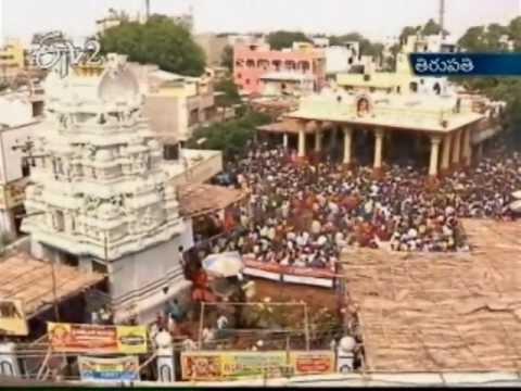 Tirupati Gangamma Jatara Tomorrow Last Day