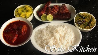 How to make Regular Kerala Lunch Meal in 50 minutes