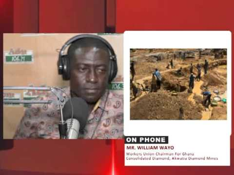Ghana's Mining Equipment being sold  to Liberia - Fabewo So (12-11-15)