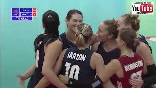 Usa vs  Serbia - Final 6 VNL 2018 W - Full Match Highlights - HD