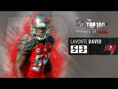 #53: Lavonte David (LB, Buccaneers) | Top 100 NFL Players of 2016