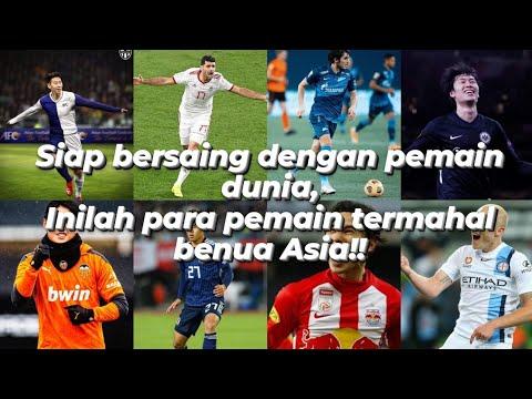10 Pemain Termahal Asia 2021