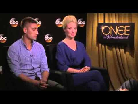 Once Upon A Time in Wonderland: Emma Rigby & Michael Socha