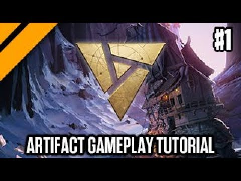 Artifact Launch - Day[9] Gives A Gameplay Tutorial P1