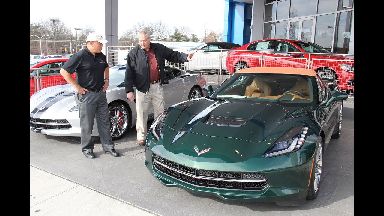 Mike Furman Marks 3000th Corvette Sale at Criswell Chevrolet