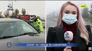 Stirile Kanal D (05.11.2020) Record negativ de infectari cu COVID-19! Orase in carantina