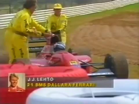 JJ Lehto retires, 1992 South African GP