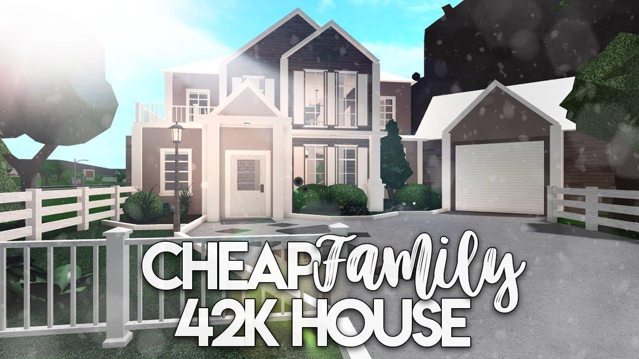 Bloxburg: Cheap Family House