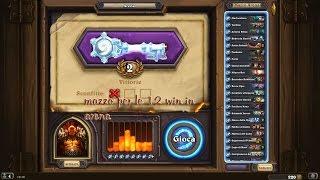 [Gameplay ITA] Hearthstone come fare 12 win in arena