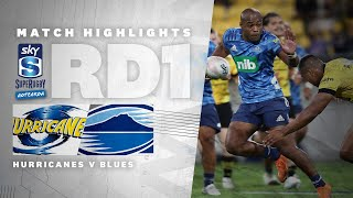 ROUND ONE: Hurricanes v Blues (Sky Super Rugby Aotearoa - 2021)
