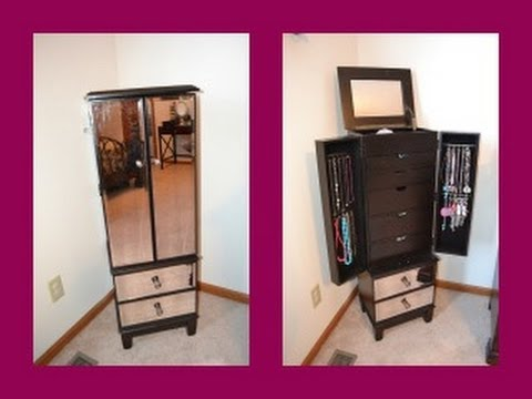 Review: Hayworth Jewelry Armoire in Espresso