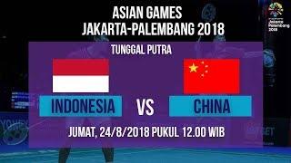 Jadwal Badminton Tunggal Putra Indonesia Jonatan Christie Vs Shi Yuqi di Asian Games