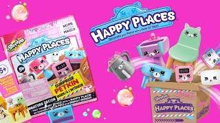 Shopkins Happy Places • Saszetki z zabawkami • bajka po polsku