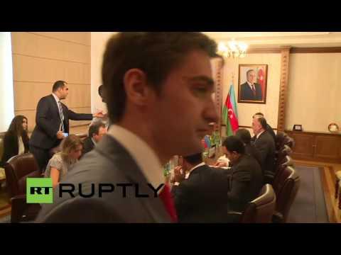 LIVE: Lavrov and Azerbaijani FM Mammadyarov talk to press in Baku