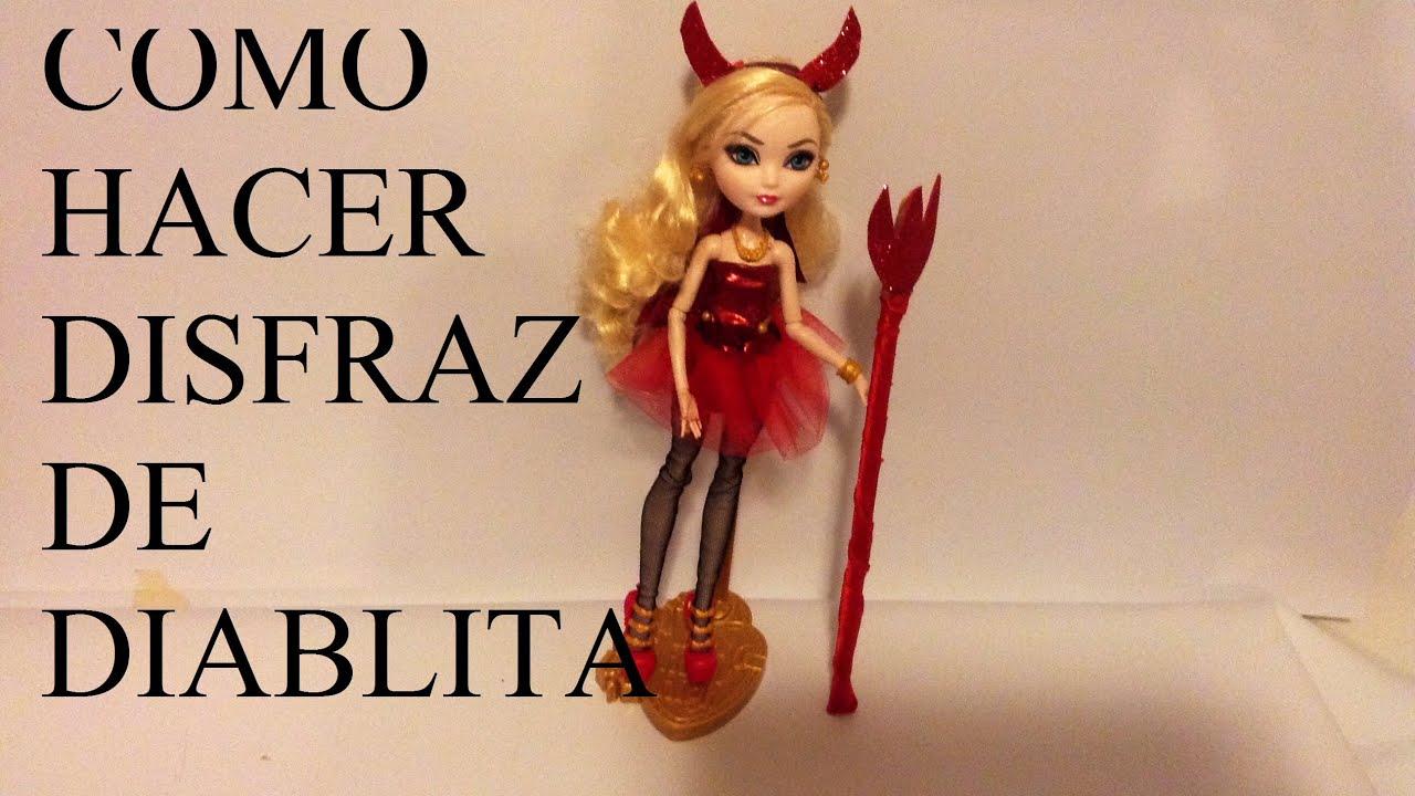 Haz disfraz de diablita para tus mu ecas barbie ever for Muebles de monster high