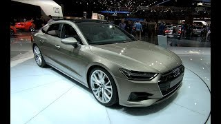 AUDI A7 SPORTBACK S-LINE QUATTRO COMPILATION 2 NEW MODEL 2018 WALKAROUND + INTERIOR