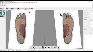 LutraCAD - Insole - Export PDF with custom settings