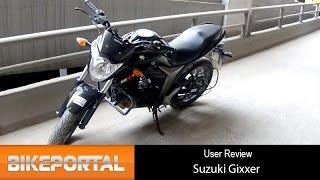 Suzuki Gixxer User Review - 'Suspension is great' - Bikeportal