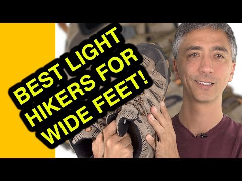 Best light hiking boot for wide feet Review Merrell Men's Moab Ventilator