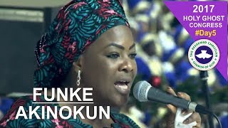 Funke Akinokun POWERFUL Praise @ RCCG 2017 HOLY GHOST CONGRESS_ #Day5