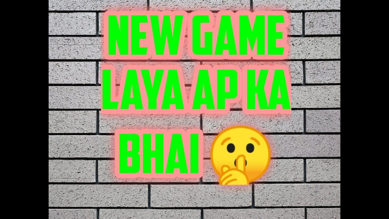 New game 😯😯😯😯
