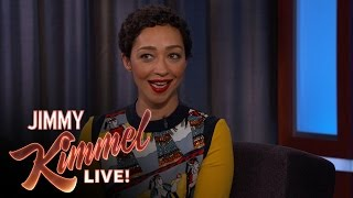 Repeat youtube video Ruth Negga on her Golden Globes Date