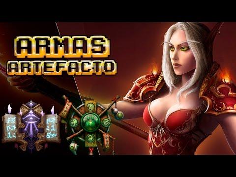 ARMAS ARTEFACTO #3 | Mago y Monje