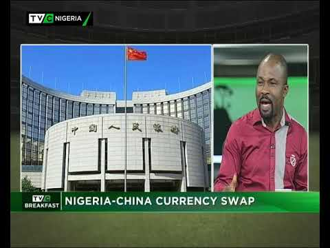 TVC Breakfast  10th May, 2018| Nigeria - China Currency Swap