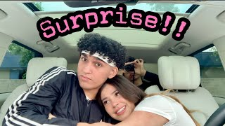 Surprising My Girlfriend With Her Dream Car!**Emotional**