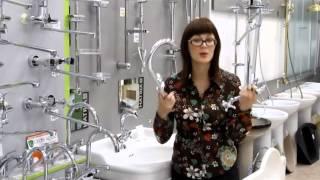 видео Сантехника, ванны акриловые, смесители, унитазы, аксессуары для ванной.  Магазин сантехники Аквабум. Смесители Grohe, Hansgrohe. Аксессуары для ванной.